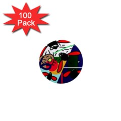 Fly, fly 1  Mini Magnets (100 pack)