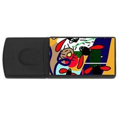Fly, fly USB Flash Drive Rectangular (1 GB)