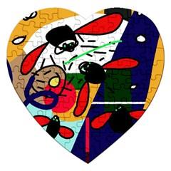 Fly, fly Jigsaw Puzzle (Heart)