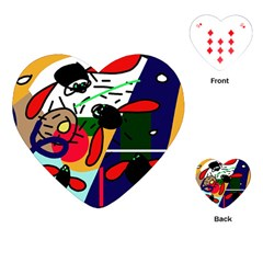 Fly, fly Playing Cards (Heart)