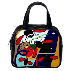 Fly, fly Classic Handbags (One Side)