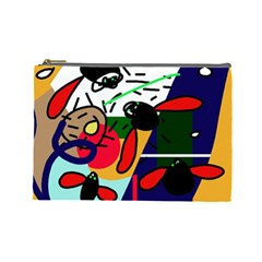 Fly, fly Cosmetic Bag (Large)