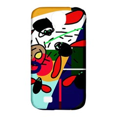 Fly, fly Samsung Galaxy S4 Classic Hardshell Case (PC+Silicone)