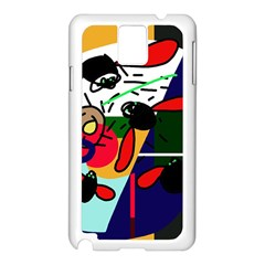 Fly, fly Samsung Galaxy Note 3 N9005 Case (White)