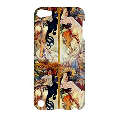 Alfons Mucha 1895 The Four Seasons Apple iPod Touch 5 Hardshell Case