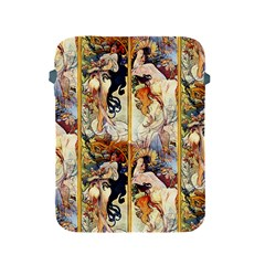 Alfons Mucha 1895 The Four Seasons Apple iPad 2/3/4 Protective Soft Cases