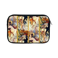 Alfons Mucha 1895 The Four Seasons Apple iPad Mini Zipper Cases