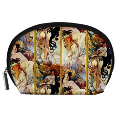 Alfons Mucha 1895 The Four Seasons Accessory Pouches (Large)