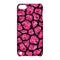 SKN1 BK-PK MARBLE Apple iPod Touch 5 Hardshell Case with Stand