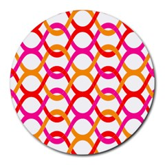 Background Abstract Round Mousepads