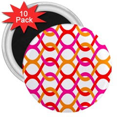 Background Abstract 3  Magnets (10 pack)