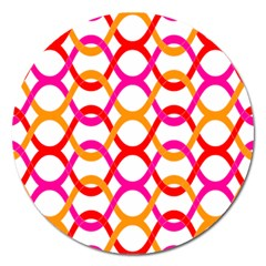Background Abstract Magnet 5  (Round)