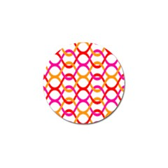 Background Abstract Golf Ball Marker (4 pack)