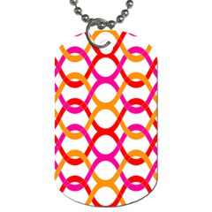 Background Abstract Dog Tag (Two Sides)