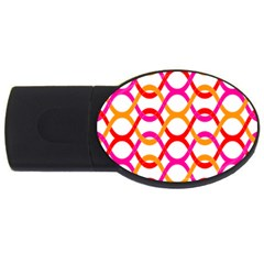Background Abstract USB Flash Drive Oval (1 GB)