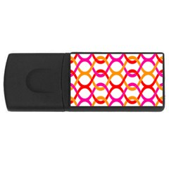 Background Abstract USB Flash Drive Rectangular (2 GB)