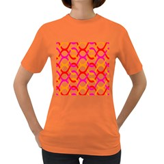Background Abstract Women s Dark T-Shirt