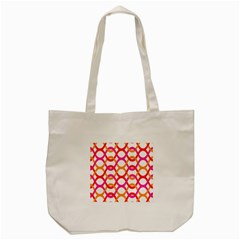Background Abstract Tote Bag (Cream)