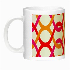 Background Abstract Night Luminous Mugs