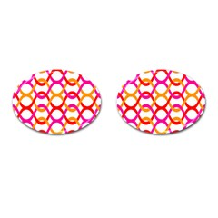 Background Abstract Cufflinks (Oval)