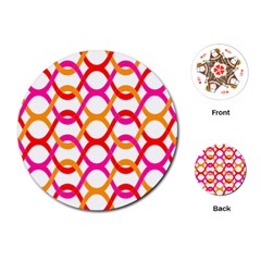 Background Abstract Playing Cards (Round)