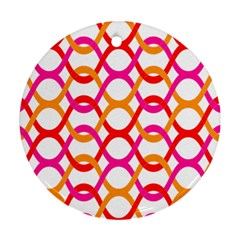 Background Abstract Round Ornament (Two Sides)
