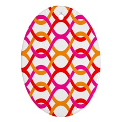 Background Abstract Oval Ornament (Two Sides)