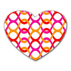 Background Abstract Heart Mousepads