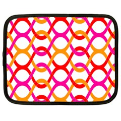 Background Abstract Netbook Case (Large)