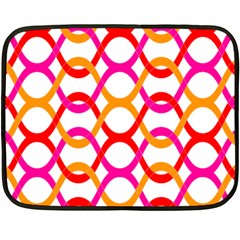 Background Abstract Double Sided Fleece Blanket (Mini)