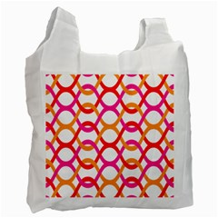 Background Abstract Recycle Bag (Two Side)