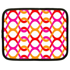 Background Abstract Netbook Case (XL)
