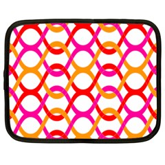 Background Abstract Netbook Case (XXL)