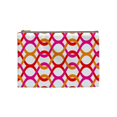 Background Abstract Cosmetic Bag (Medium)
