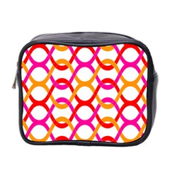 Background Abstract Mini Toiletries Bag 2-Side