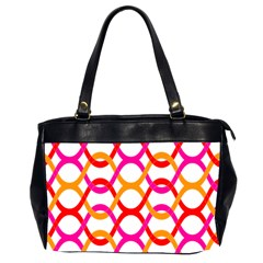 Background Abstract Office Handbags (2 Sides)