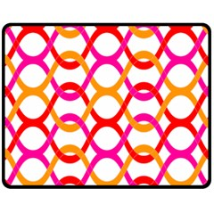 Background Abstract Fleece Blanket (Medium)