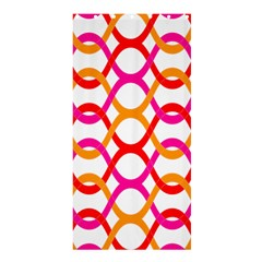 Background Abstract Shower Curtain 36  x 72  (Stall)