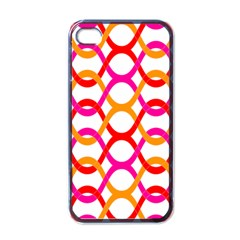 Background Abstract Apple iPhone 4 Case (Black)