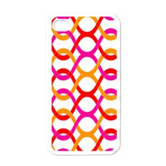 Background Abstract Apple iPhone 4 Case (White)