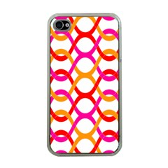 Background Abstract Apple iPhone 4 Case (Clear)