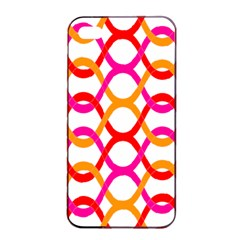 Background Abstract Apple iPhone 4/4s Seamless Case (Black)