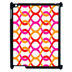 Background Abstract Apple iPad 2 Case (Black)