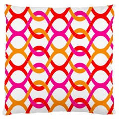 Background Abstract Large Cushion Case (One Side)