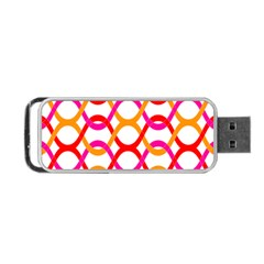 Background Abstract Portable USB Flash (Two Sides)