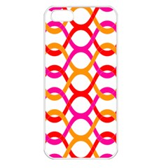 Background Abstract Apple iPhone 5 Seamless Case (White)
