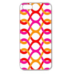 Background Abstract Apple Seamless iPhone 5 Case (Clear)