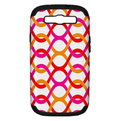 Background Abstract Samsung Galaxy S III Hardshell Case (PC+Silicone)