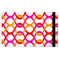 Background Abstract Apple iPad 3/4 Flip Case