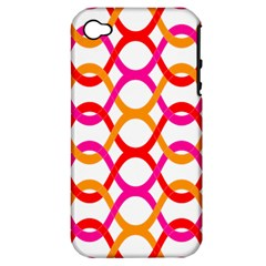 Background Abstract Apple iPhone 4/4S Hardshell Case (PC+Silicone)
